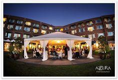 Woodmark Hotel in Kirkland - gorgeous water view tent, indoor options