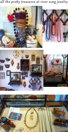 River Song Jewelry - must visit this luscious shop! :) Address: 2816 E Madison Street, Tuesday through Saturday.