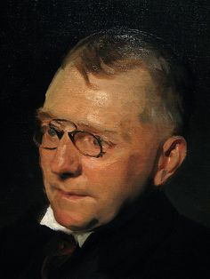 James Whitcomb Riley by John Singer Sargent