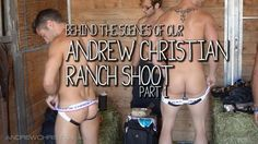 Jockstrap Cowboys by Andrew Christian: Behind The Scenes, Part 1