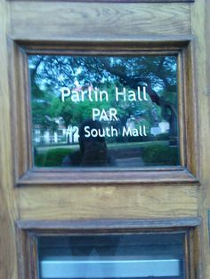 Almost every student at UT has had at least one class in Parlin Hall, home of the English department.