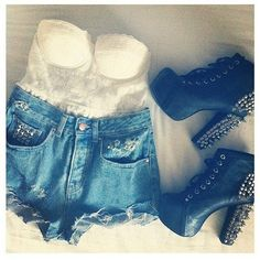 have the shoes just need the top an shorts
