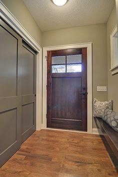 Entry contemporary entry