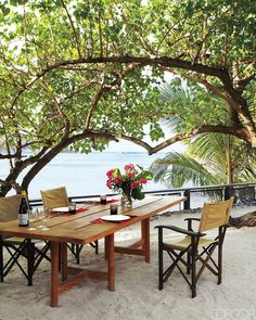 designer Christian Liaigre's St. Barts home