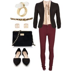 """Fall Business Casual"" by rarcos on Polyvore"