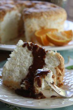 Orange and Ginger Angel Food Cake