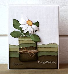 birthday card, color combo, masculin card, masculine cards