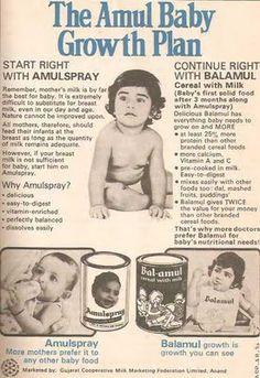 Vintage Amul Ad