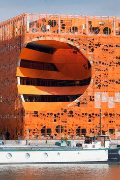 The Orange Cube. Jakob + Macfarlane