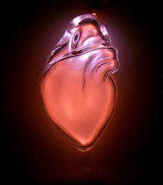 Anatomically correct blown-glass organs.  Amazing! http://www.jessicalloyd-jones.com/page19.htm