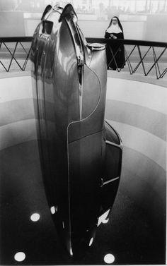 The altar of auto. 1962 | Citroen DS | Paris Motor Show