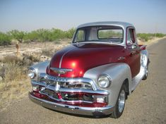 Beautiful '55 Chevy 3100 truck