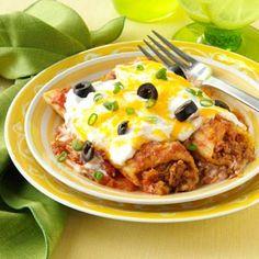 Mexican Manicotti!!