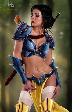 Disney Princesses Get A Fierce Warrior Makeover