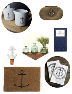 Our home design director @sarahrdesign scouted out these nautical goodies for summer.