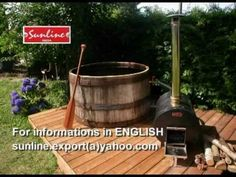 HOW to BUILD a JACUZZI HOT TUB wood fired SUNLINE water HEATER - 2 - YouTube