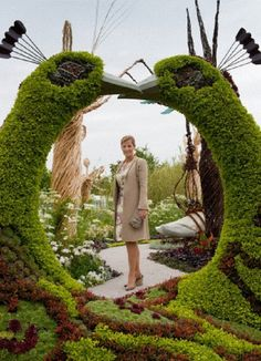 HRH Sophie The Countess of Wessex visits the Hampton Court Flower Show on 3 July 2012