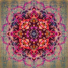 Beautiful mandala artwork by Henkselimaakari