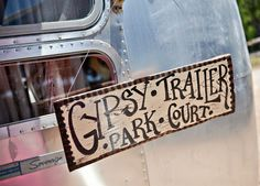 [with homemade curtains hung just like a gypsy] #junkgypsy