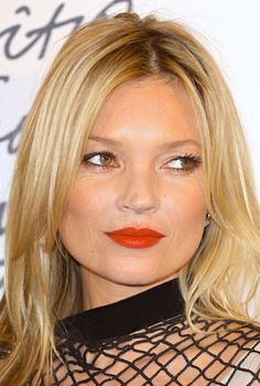 The Matte Red Lip (click link for tips on picking the right matte lipstick)