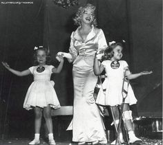 Marilyn with March of dimes kids