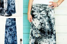 Get in the Groove - Tie Dyed Skirts for 56% Off! pickyourplum.com #tiedyed #skirts