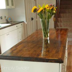 IKEA Creating Custom High End Butcher Block Counter Tops for Cheap :: Hometalk