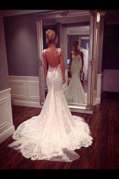 wedding dressses, dream dress, beaaaauti, backless, front doors, beauti, belle, bride, belts