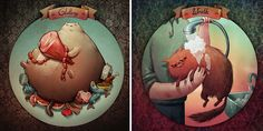 7 Deadly Catsins By Marija Tiurina