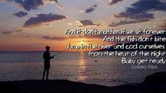 Cute fishing quotes on pinterest fishing fishing quotes for Fishing in the dark lyrics