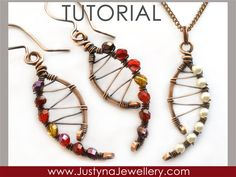 Wire Jewelry Tutorial Wirewrapping Jewelry