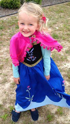 Custom made Princess Anna dress...for all the little Frozen fans!!!