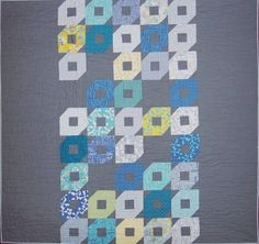 Sphere quilt kit - pattern and fabrics by Zen Chic designs!