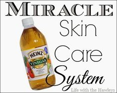 Apple Cider Vinegar- Miracle Skin Care System