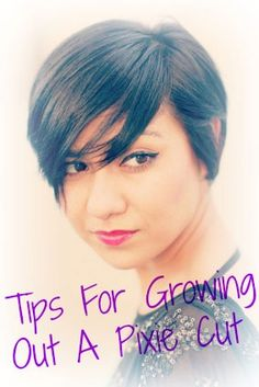 how to grow out a short haircut fast