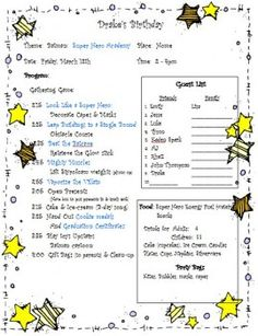 superhero party: tons of game and activity ideas!
