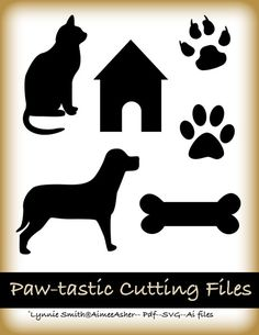 I Love You Clip Art Free. Free Pawtastic Cutting Files