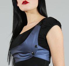 Uplift harness top modern cyberpunk gear by Plastik by PlastikWrap, $55.00