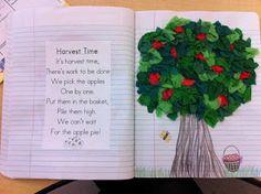 Kindergarten poetry journal ideas....LOVE THIS!!