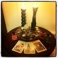 Hoodoo Magick Rootwork:  Hoodoo Altar.