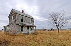 Abandoned Farmstead In Rural McLean County, Illinois:  You Can't Go Home Again:  By tlindenbaum, via Flickr