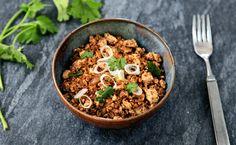 Tofu 'Chorizo'