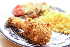 Crispy Cholula Chicken {Oven-Fried} - recipe by Barefeet In The Kitchen
