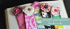 fabric bookmark tutorial {teacher appreciation gift idea} | Little Birdie Secrets