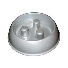 Slow-down dish for dogs that gulp their food. It works!