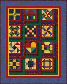 Debbie Mumm: Year Long Sampler Quilt Project 2006