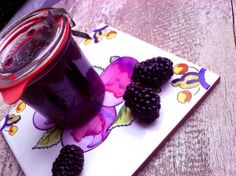 Blackberry Lavender Simple Syrup