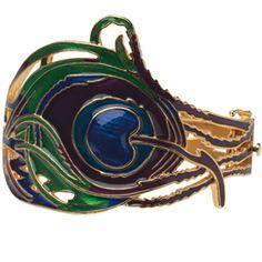 The Met Store - Art Nouveau Peacock Feather Bracelet