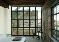 Textile Factory Meticulously Converted into 8-Story Wythe Hotel in Brooklyn