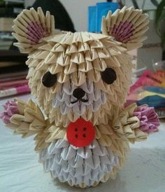 3D Origami - Origami Little Bear